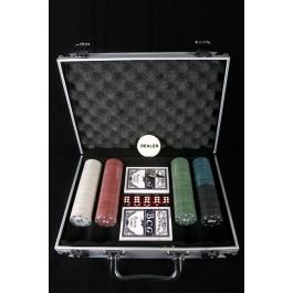 Mala de Poker - 300 Fichas
