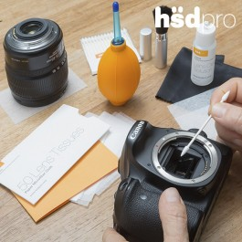 Kit de Limpeza profissional para Câmaras Fotográficas HsdPro - 7 em 1