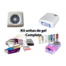 Kit Unhas de Gel