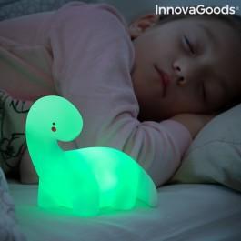 Lâmpada de Dinossauro LED Colorida