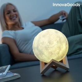 Lâmpada LED em forma de Lua - Recarregável