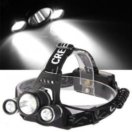 Lanterna LED de Cabeça ou Bicicleta 1800 Lumens