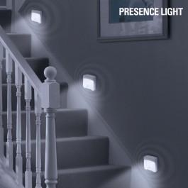 Tubo de Luz LED com Sensor de Movimento