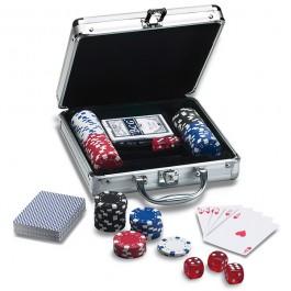 Mala de Poker - 100 Fichas