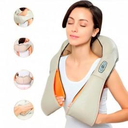 Massajador Shiatsu 3D com Infravermelhos Termoterapia