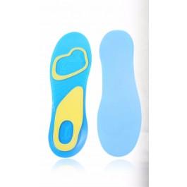Palmilhas de Gel para uso diário - Homem, ajudam a prevenir que os seus pés fiquem cansados e doridos a melhor solução para todos os seus sapatos favoritos