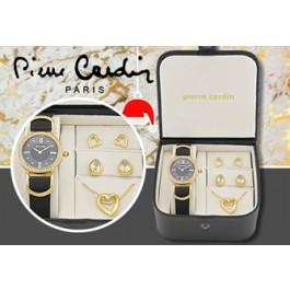 Conjunto PIERRE CARDIN Golden Pearl - Jóias Clássicas, Pendente e Relógio