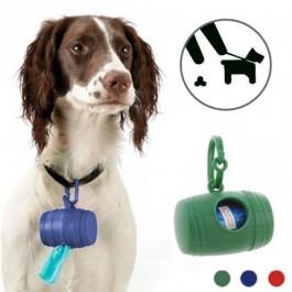 Porta-sacos para excrementos de cão