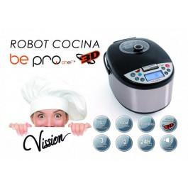 Robot de cozinha Be pro chef - Voz em português