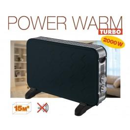 Radiador convector Power Warm Turbo - 2000W