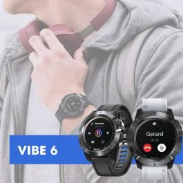 Relógio Smartwatch Vibe 6 GPS com Bluetooth 5.0 - IP67 à prova d'água