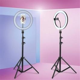 Ring Light Deluxe - Anel de luz LED 26cm ajustável