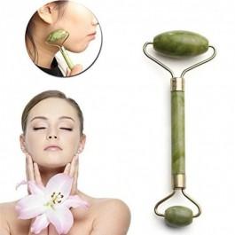 Rolo de Massagem Facial Jade 2 em 1
