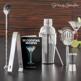 Set de preparação de Cocktail Deluxe - 6 peças