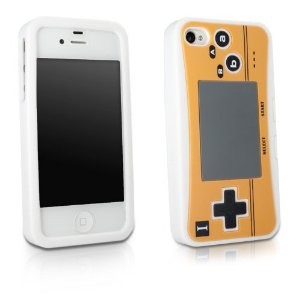 Capa de Silicone Game Boy Micro para Iphone 4/4s - LUCKCASE
