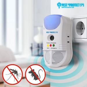 Riddex Plus + / Pest Protect Plus + Repelente de insectos e Roedores 5 em 1