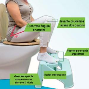 Banco Ajustável de Casa de banho multifunções - Dr. Toilet