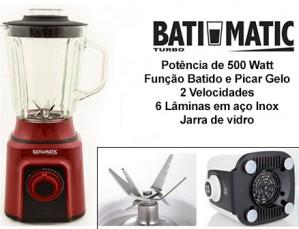 Liquidificador Batimatic Turbo 500W