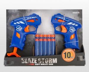 Pistola de Brincar Pack de 2 - Blaze storm gun