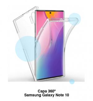 Capa 360 Gel Dupla Frente e Verso - Galaxy Note 10