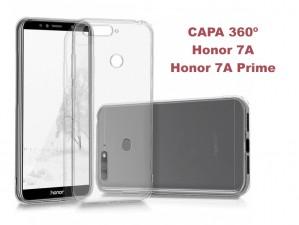 Capa 360 Gel Dupla Frente e Verso - Huawei Honor 7A - 7A Prime