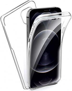 Capa 360 Gel Dupla Frente e Verso - iPhone 12 Pro Max - Transparente