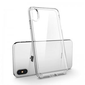 Capa 360 Gel Dupla Frente e Verso - iPhone Xs Max - Transparente