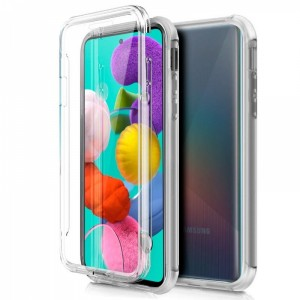 Capa 360 Gel Dupla Frente e Verso - Samsung Galaxy A50 - 5G - Transparente