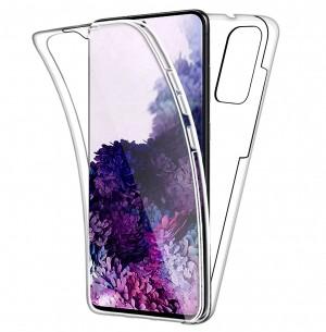Capa 360 Gel Dupla Frente e Verso - Samsung Galaxy S20 - 6.2 - Transparente