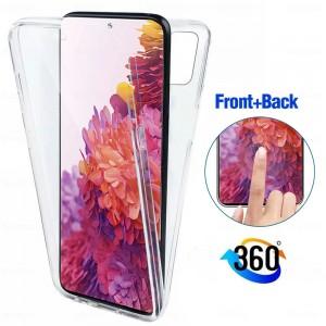 Capa 360 Gel Dupla Frente e Verso - Samsung Galaxy S20 FE - Transparente