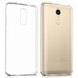 Capa 360 Gel Dupla Frente e Verso - Xiaomi Redmi 5 Plus - Transparente