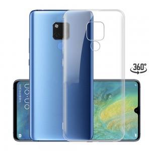 Capa 360 Gel Dupla Frente e Verso - Huawei Mate 20 - Transparente
