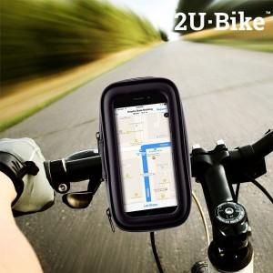 capa com suporte de telemovel para bicicletas