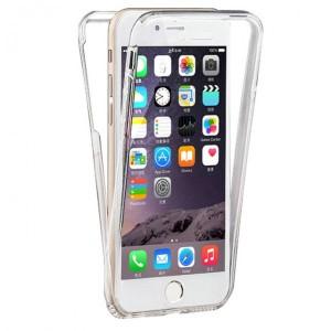 Capa 360 Gel Dupla Frente e Verso - Iphone 7 Plus - Transparente