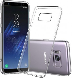 Capa 360 Gel Dupla Frente e Verso - Samsung Galaxy S8 - Transparente