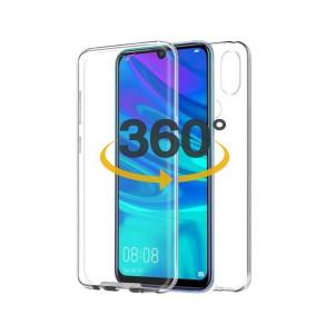 Capa 360 Gel Dupla Frente e Verso - Huawei Y7/Y7 Pro (2019) - Transparente