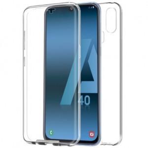 Capa 360 Gel Dupla Frente e Verso - Samsung Galaxy A40  - Transparente