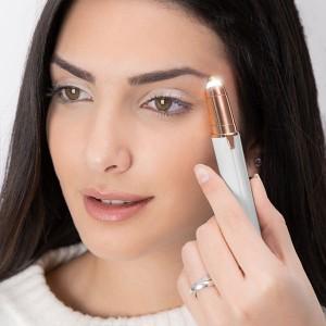 Depiladora de Precisão Facial com Luz LED