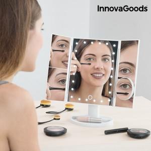Espelho de Aumento LED 4 em 1