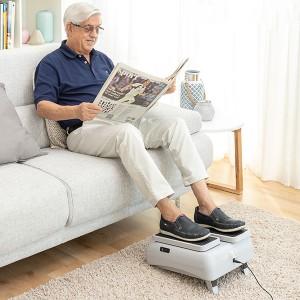 Exercitador Elétrico de Pernas para Caminhar Sentado