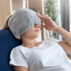 Gorro de gel para cefaleias e relaxamento