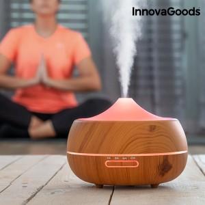 Humidificador difusor de aromas LED Wooden-Effect
