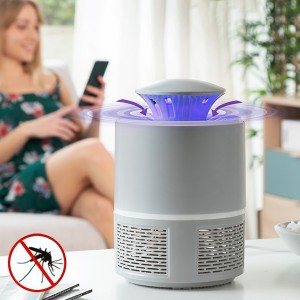Lâmpada Anti-Mosquitos por Sucção