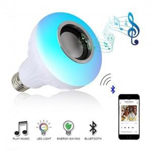 Lampada LED Musica Bluetooth e comando
