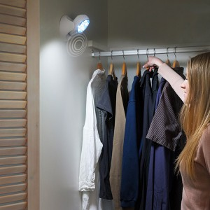 Luz de presença com sensor de movimento