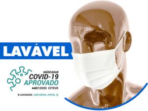 Mascara Social Reutilizável - Nivel 3 - Certificada - Covid19