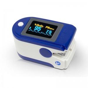 Oxímetro de Dedo - Medidor de Pulsação e Saturação de Oxigénio