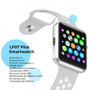 Relógio Telefone smartwatch com Câmara - LF07 Plus