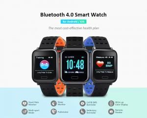 Relógio Smartwatch A6 com Bluetooth 4.0 IP67