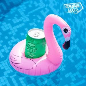 Bóia insuflável para Bebidas Flamingo